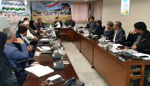 استان خوزستان کمربند اقتصاد کشاورزی کشور