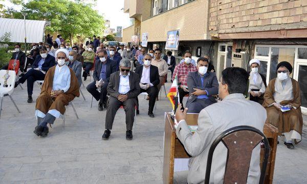 برگزاری مراسم زیارت عاشورا به مناسبت هفته جهاد کشاورزی