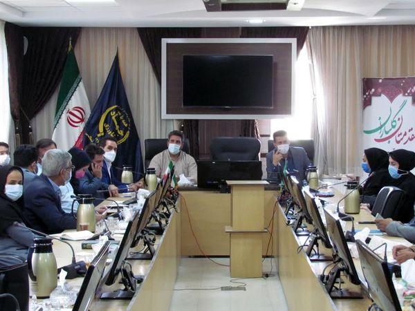 برگزاری جلسه هماهنگی توزیع نهادههای دامی در سازمان جهاد کشاورزی خراسان شمالی