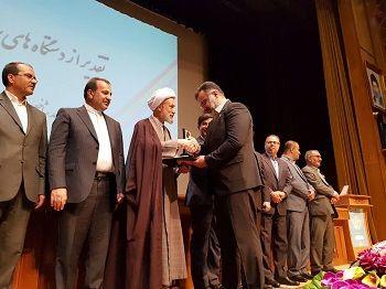 """رئیس جهاد کشاورزی استان فارس """"مدیر نمونه استانی"""" شد"""