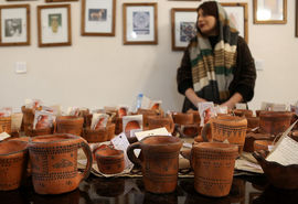 نمایشگاه کلپورگان سفالینه
