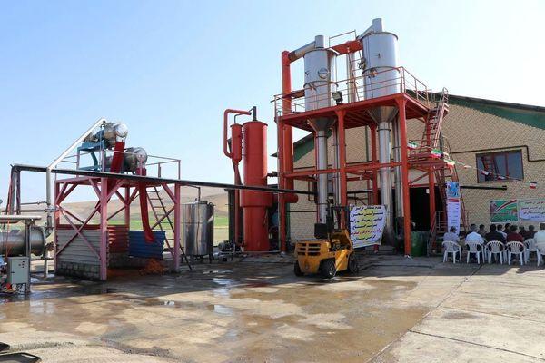 افتتاح کارخانه تولید رب گوجه فرنگی و کنسانتره سیب درختی در بوکان