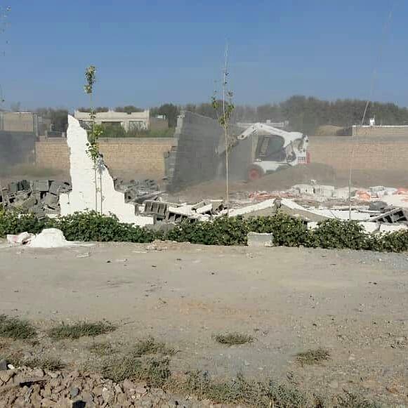آزادسازی 40هزارمترمربع از اراضی کشاورزی اسلامشهر