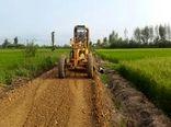 احداث جاده بین مزارع و تسطیح اراضی کشاورزی در سرخه