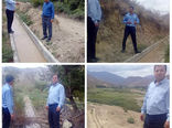 احداث و بهسازی کانال های آبیاری طول 3650 متر در شهرستان ورزقان
