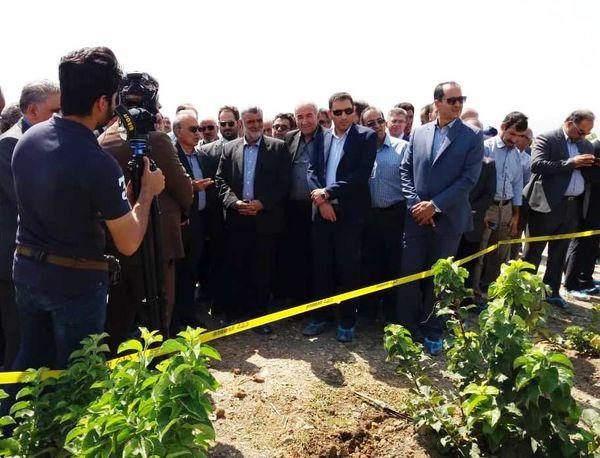 باغ مادری و نهالستان گهربار در شهرستان چناران افتتاح شد
