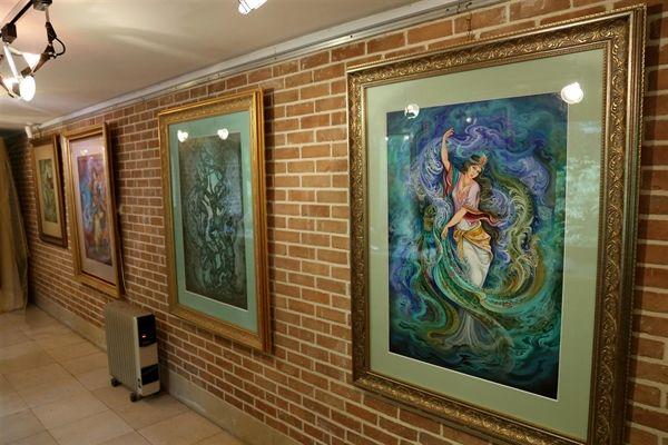 برگزاری نمایشگاه فردوسی و شاهنامه از نگاه استاد حسین بهزاد