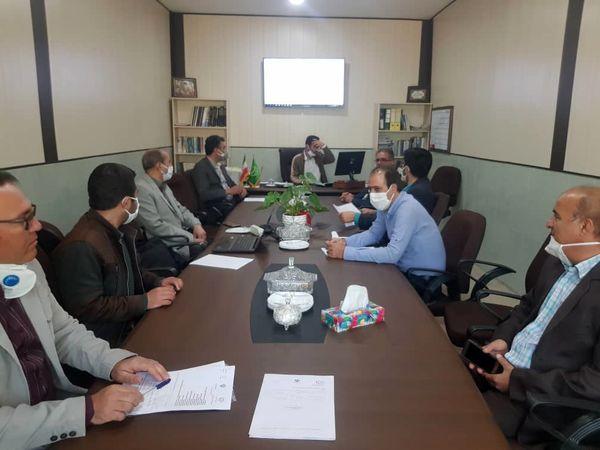 جلسه کمیته فنی طرح سامانه های  نوین آبیاری جهاد کشاورزی استان قزوین برگزارشد