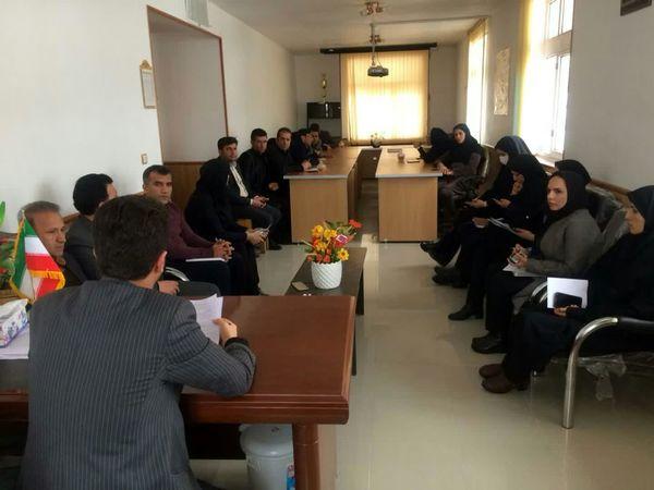 برگزاری جلسه سامانه نظام نوین ترویج و شورای اداری مدیریت جهاد کشاورزی شهرستان کوهرنگ