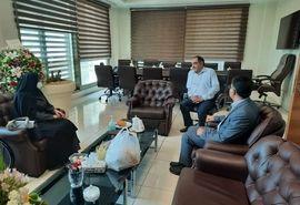 دیدار رییس سازمان جهاد کشاورزی استان قزوین با معاون باغبانی وزارت جهاد کشاورزی