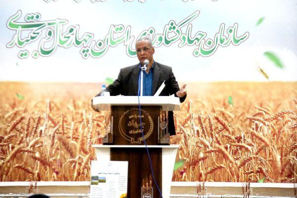سهم اشتغالزایی بخش کشاورزی در چهارمحال و بختیاری ۲۵ درصد است