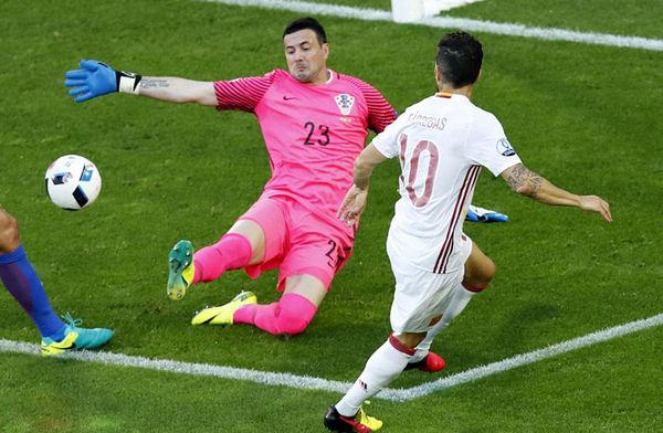 پخش زنده دیدار فوتبال اسپانیا –کرواسی