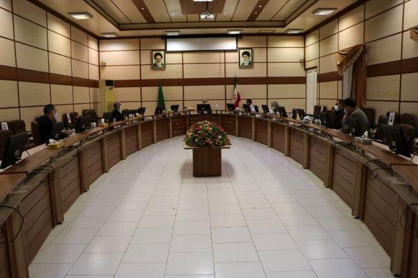 نشست شورای مدیران آب وخاک با موضوع اندازهگیری آبیاری محصول انار برگزار شد
