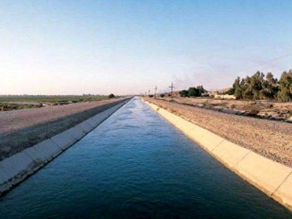 احداث ۱۳ کیلومتر کانال انتقال آب کشاورزی در قزوین