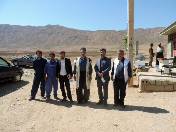 ارائه خدمات رایگان دامپزشکی در مناطق محروم شهرستان اردل