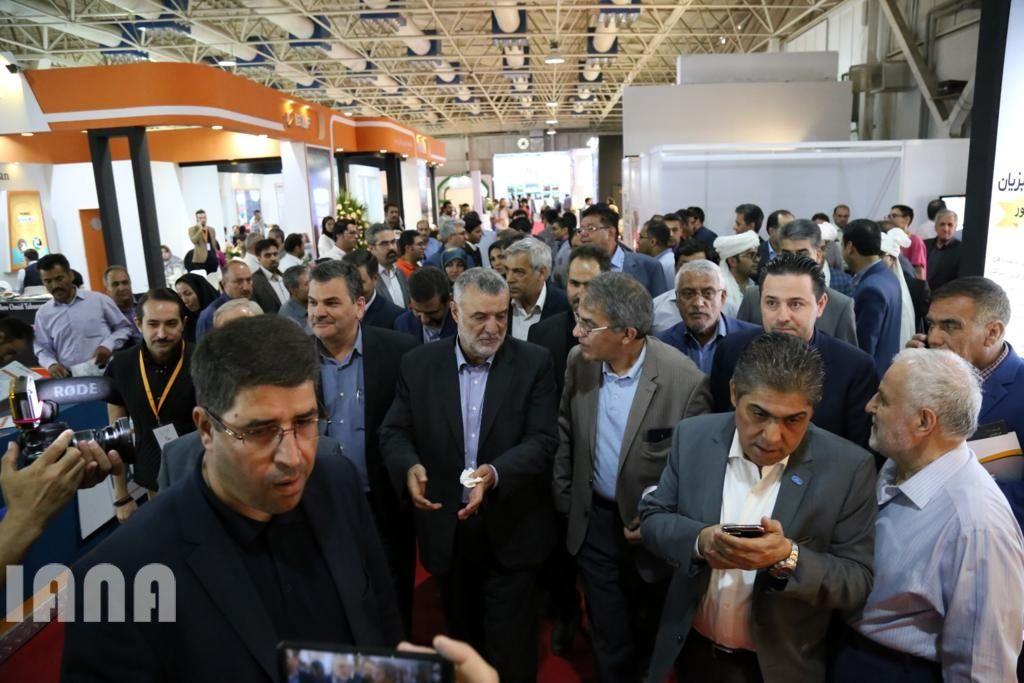 بازدید وزیر جهاد کشاورزی از هجدهمین نمایشگاه بین المللی دام و طیور و صنایع وابسته