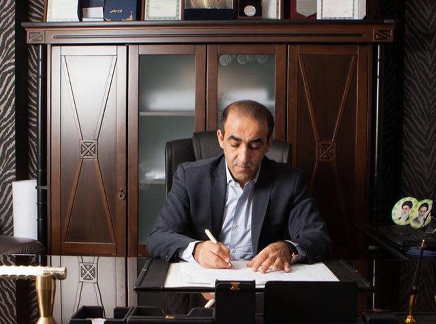 مدیرعامل مجتمع گلخانه 130 هکتاری هیدروپونیک منطقه آزاد ارس