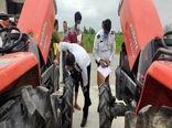 پلاک گذاری 300 دستگاه تراکتور در آمل