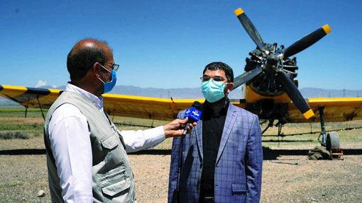 آغاز محلول پاشی هوایی در جنگلهای ارسباران برای کنترل و مبارزه با آفات از فردا