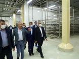 بازدید وزیر جهادکشاورزی از نخستین پالایشگاه شیر ایران و آسیا